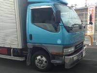 大型回収トラックの写真