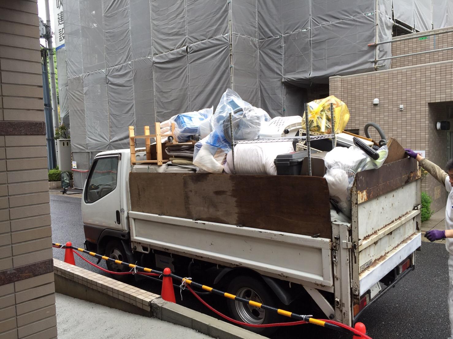 遺品整理に伴う不用品回収ー神戸市