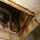 キッチンの換気扇のクリーニング